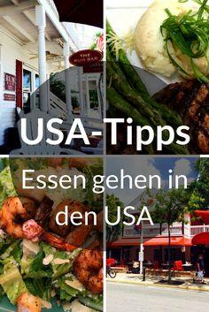 Beim Essen gehen in den USA gibt es einige Unterschiede zu uns in Deutschland. Klar, nichts Gravierendes. Es gibt lediglich ein paar Dinge, die du beachten solltest. Außerdem erfährst du, wieso es Spaß macht, in den USA Softdrinks zu trinken. Du fliegst auch bald in die Staaten? Ich zeige dir, was du beim Essen gehen in den USA beachten musst. #usa #essen #food