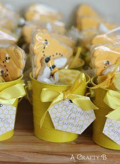 Bit-O-Honey candy, jars of honey, and homemade sugar cookies