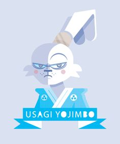 Usagi Yojimbo - Heroes de Vectores 2 by Beto Garza Helbetico, via Behance