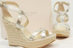 wedding wedges for the bride!