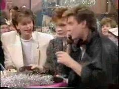 Duran Duran on the saturday morning show  SO handsome!