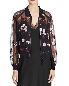 Lucy Paris Embroidered Bomber Jacket - 100% Bloomingdale's Exclusive | Bloomingdale's