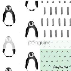 Penguin Nursery Bedding, Gender Neutral Crib Bedding Set, Customizable Baby Girl Bedding Set - http://babyfur.net/penguin-nursery-bedding-gender-neutral-crib-bedding-set-customizable-baby-girl-bedding-set.html