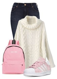 """""""Untitled #20297"""" by nanette-253 ❤ liked on Polyvore featuring Melissa McCarthy Seven7 and adidas"""