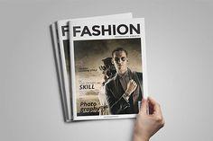 Minimal Magazine by fahmie on @creativemarket #magazine #tabloid