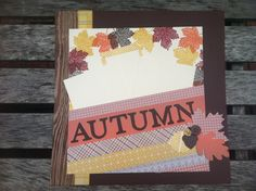 Fall Scrapbook Club - right page