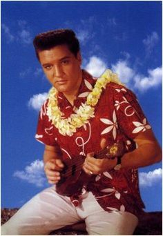 Blue Hawaii~ skinny Elvis .. Lol  Don't know whether to put him in musicals or beautiful men