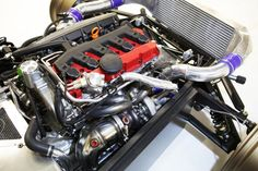 Donkervoort D8 GTO's turbo 5cyl from Audi TT RS.