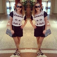ⓖⓛⓐⓜⓞⓤⓡ ⓘⓢ ⓐ ⓢⓣⓐⓣⓔ ⓞⓕ ⓜⓘⓝⓓ ☆★☆ #dodia #dujour #lookdodia #meulook #fuiassim #ootd #wiwt #myfashiondiaries #fashionblogger #goldentulip #encontrodeblogueiras #skafe #encontrodeblogueirasskafe #blogueirascariocas #sweetacessorios #style #pb #blackandwhite #feitonobrasil #itblog #trendalert #riodejaneiro #rj #estilocarioca