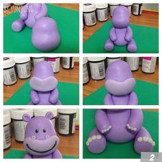 Purple Hippo cakepins.com