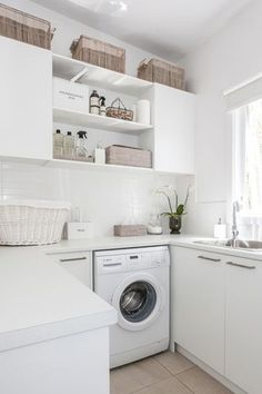 21 Laundry Rooms That Will Make You Want to Do Laundry via @PureWow