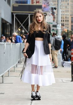 We Proudly Present The Best Street Style From NYFW, From The Stunning To The Insane