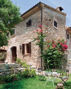 casa de piedra, encantadora!