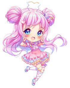 [+Video] Harajuku Chibi by Neko-Rina on DeviantArt Dibujos Anime Chibi, Cute Anime Chibi, Kawaii Chibi, Kawaii Art, Kawaii Girl Drawings, Cute Animal Drawings Kawaii, Cute Drawings, Cute Kawaii Girl, Kawaii Anime Girl