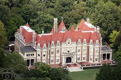 Busch Family Mansion, lucky to go to a private party on the front lawn and inside...what an Amazing place!