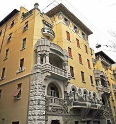 Trieste, Aubrey Beardsley, Gustav Klimt, Trekking, Art Nouveau, Liberty, Louvre, Mansions, Building