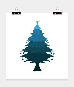 christmas tree on Behance
