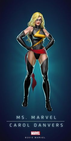 Marvel Puzzle Quest Ms. Marvel