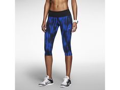 Nike Epic Run Tight Fit Printed Women's Capris