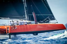 pinterest.com/fra411 #sailing - Gunboat G4 foiling - les voiles de saint-barth regatta 2015 - not bad for a cruising multihull ...