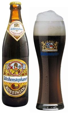Named after Saint Corbinian of Freising Germany, the Weihenstephaner Korbinian Doppelbock exceeds my expectations in greatness. Poured into a stemmed Porter glass, this dark mahogany brown beer forms a nice tan head that quickly dissipates. A very nice malty aroma with a faint scent of coffee that isn't too overpowering. Medium in body this is a very drinkable beer with a clean aftertaste. Slightly sweet, but not too sweet, I have to give it 5 stars out of 5.