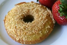 Coconut Flour Donuts. Ingredients: coconut flour, sea salt, baking soda, eggs, honey, vanilla, butter or coconut oil.