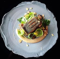 New Zealand King Salmon, Jerusalem artichokes, caramelised onions and sprouts   @phils_kitchen_nz