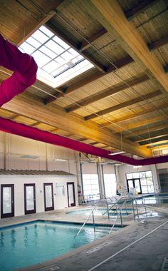 Twin Lakes YMCA Natatorium; Austin, Texas, KAH Architecture