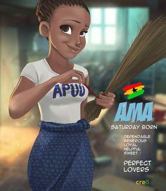 Ghanaian names                                                                                                                                                     More