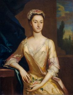 """Portrait of a Lady"" c.1730/1735 Joseph Highmore (English)"