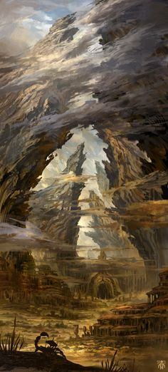 ArtStation - ARK DESERT / 2014, RAINMAN PAGE Ironwood for Gold and Glory Campaign