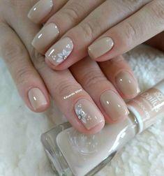 Pink Nail Art, Pink Nails, My Nails, Elegant Nails, Stylish Nails, Nagellack Design, Bride Nails, Pretty Nail Art, Pedicure Nails