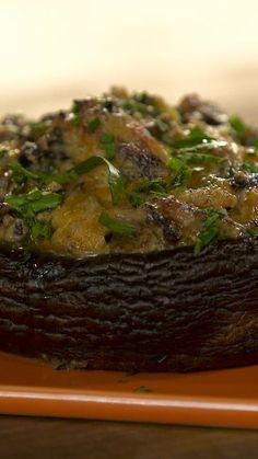 Jalapeno And Cheese Stuffed Portabello Mushroom ~ Recipe