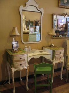 French Vanity & Mirror