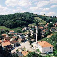 Town of Vrnograc Bosnia