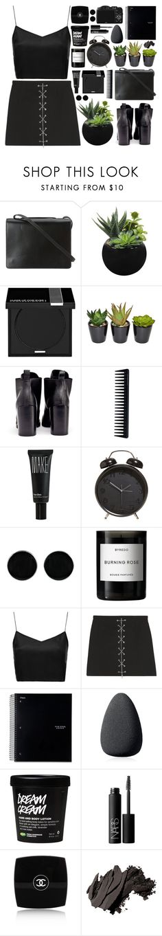 """""""Run"""" by kara-burke ❤ liked on Polyvore featuring BCBGMAXAZRIA, MAKE UP FOR EVER, The French Bee, Cheap Monday, GHD, Make, AeraVida, Byredo, Boutique and Michael Kors"""