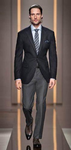 73cffac60 11 Best Hugo Boss Suit images | Man fashion, Male fashion, Man style