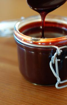 Homemade Chocolate Sauce! No Butter Needed!