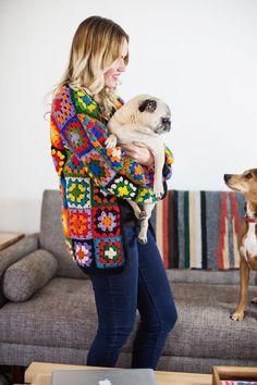 I feel like i need this granny square sweater