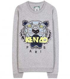 9a3e0a9e96d Kenzo - Sweat-shirt orné de broderie Tiger - my sweat!!  3