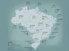 Onde estão os 251 milhões de celulares em uso no Brasil