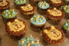 Lion cupcakes maybe for a Noah's Ark theme