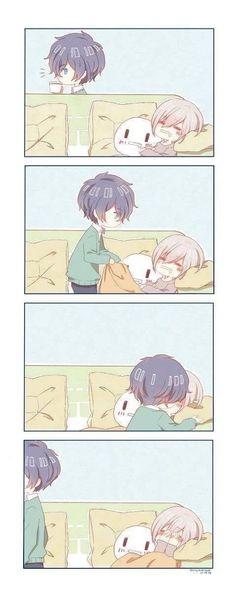 Anime Kiss, Anime Neko, Kawaii Anime, Manga Anime, Anime Couples Drawings, Anime Couples Manga, Cute Anime Couples, Cute Anime Boy, Anime Love