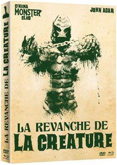 La Revanche de la créature (1955) - Blu-ray Combo Blu-ray + DVD  BLURAY NEUF