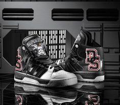 Star Wars x adidas Originals Conductor Hi 'Super Death Star