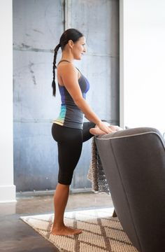 Standing Pidgeon Yoga Poses For Sciatica, Chest Opening, Aktiv, Barre, Recovery, Stretches, Sporty, Workout, Fitness