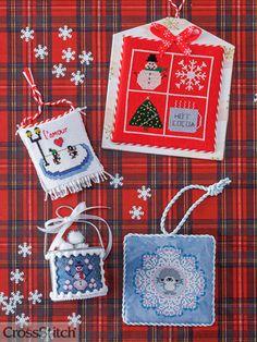 Just Cross Stitch Christmas Ornaments 2020 300+ Just CrossStitch Magazine ideas in 2020 | stitch projects