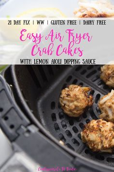 I make a double batch of the BEST gluten free mini crab cakes every holiday season and they really couldn't be easier! Homemade Crab Cakes, Mini Crab Cakes, Crab Cake Recipes, Seafood Recipes, Crab Balls Recipe, Gluten Free Crab Cakes, Fresh Bread Crumbs, Air Fried Food