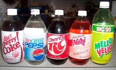 "soda in glass bottles with styrofoam labels .and ""Crystal"" Pepsi! I remember that one. School Memories, My Childhood Memories, Childhood Toys, It's Over Now, 80s Kids, I Remember When, Good Ole, Ol Days, Thats The Way"