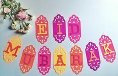 Eid Mubarak bannière par AtelierAngie sur Etsy